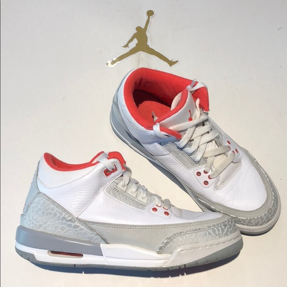 best service 045fd 8b93f Nike air Jordan retro 3 GS size 6.5Y 441140-101